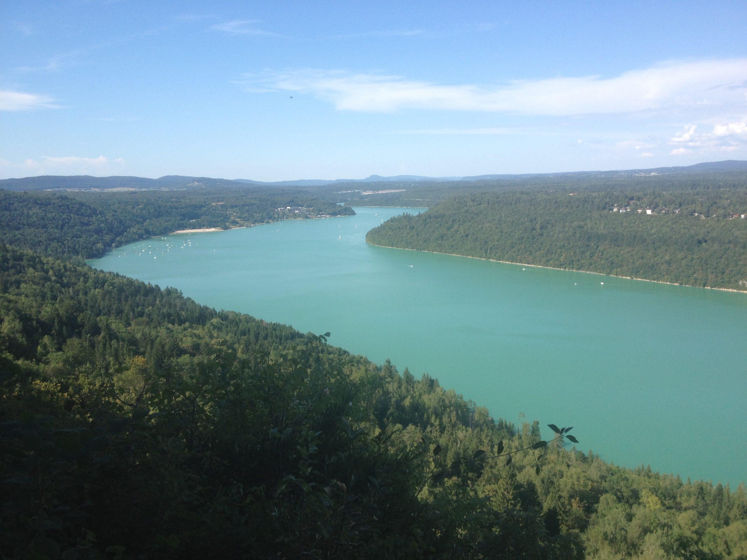 Le lac de Vouglans (photo Lucien ATHANASE)