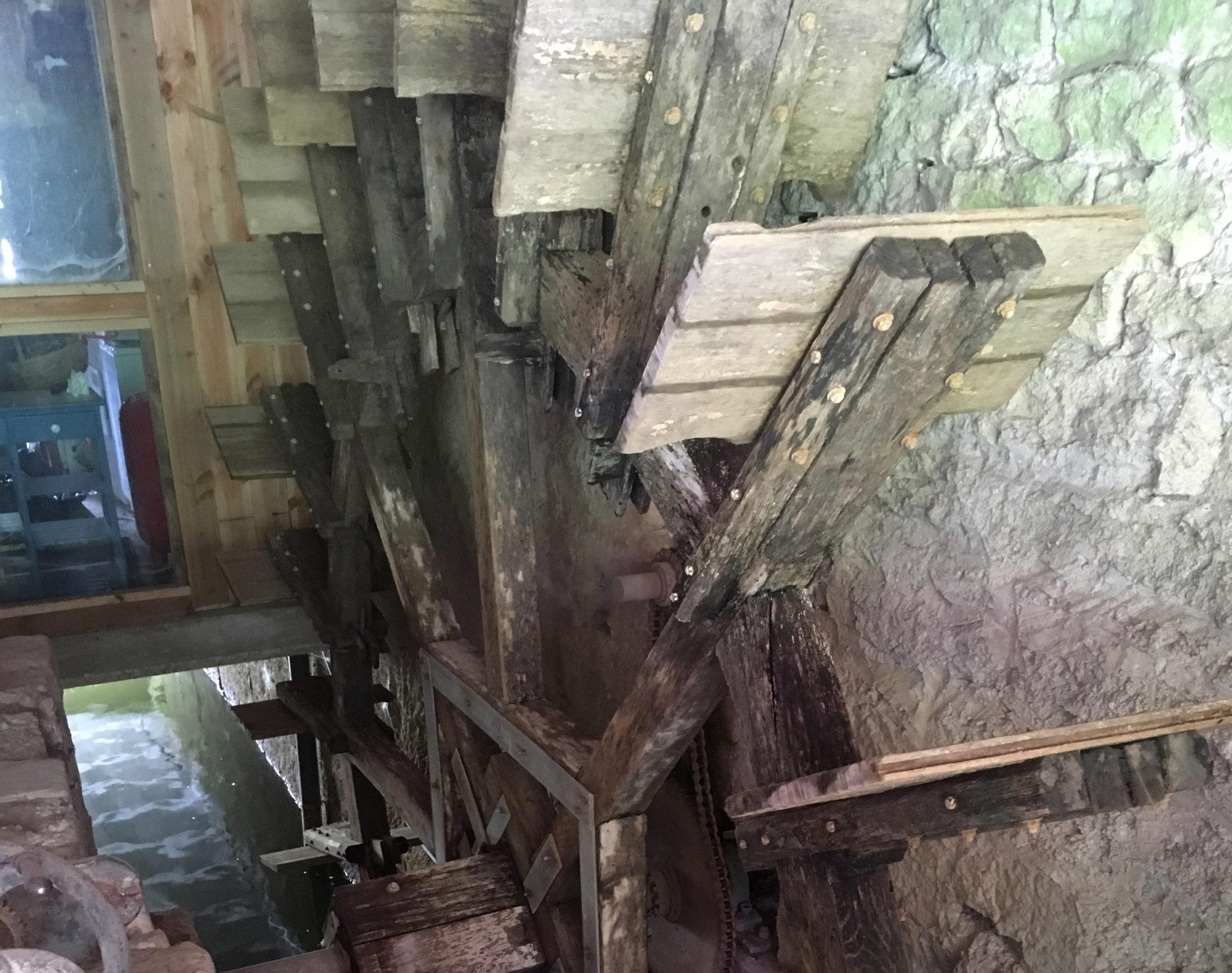 Roue du moulin du Pont Neuf