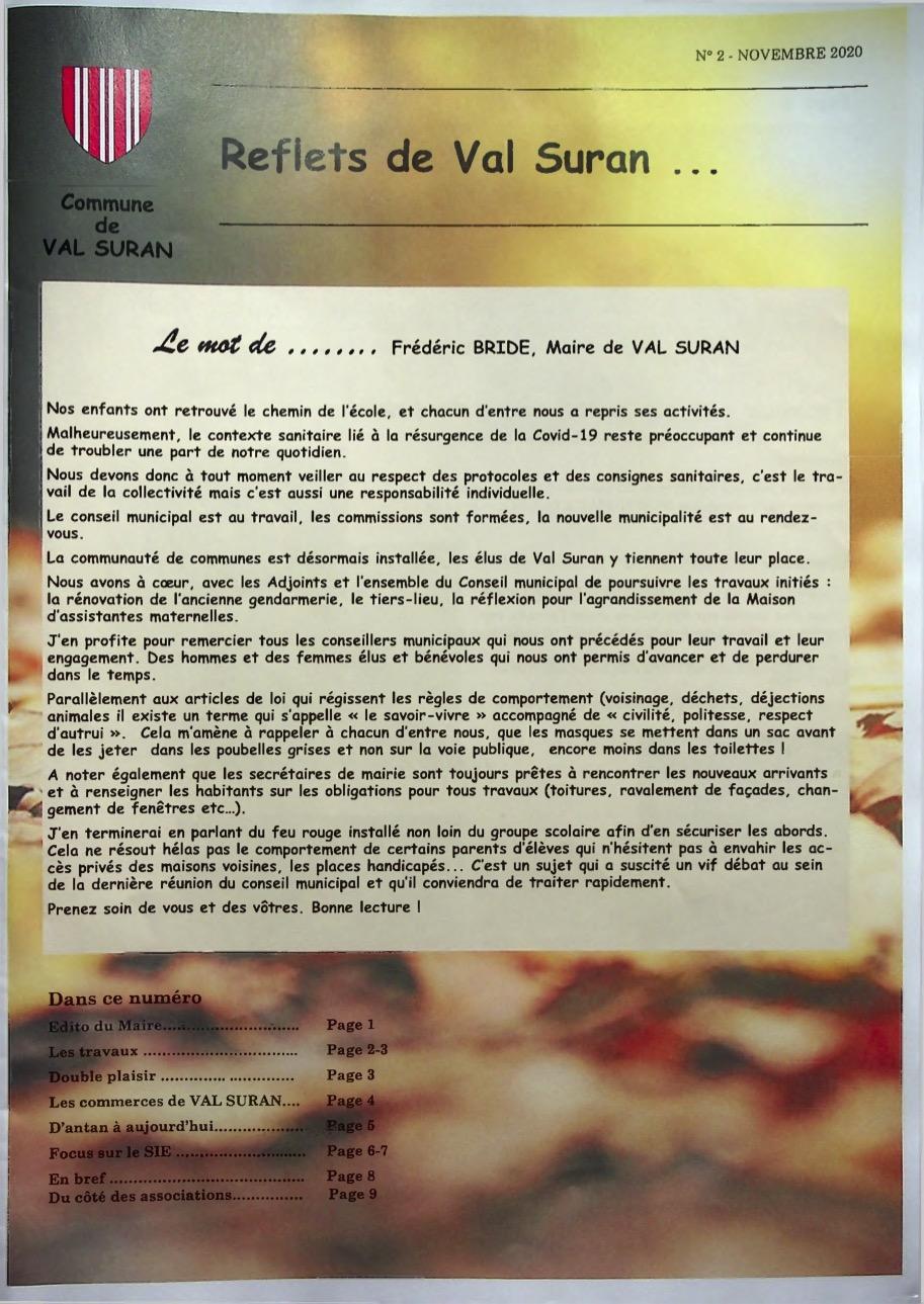 vignette du bulletin municipal n°2